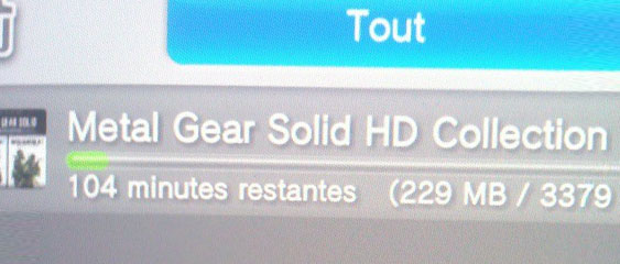 Téléchargement : Metal Gear Solid HD Collection sur PS Vita