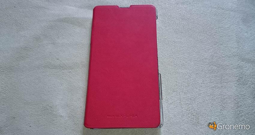 Roxfit book flip case for sony xperia z1 carbon black for Housse coussin exterieur