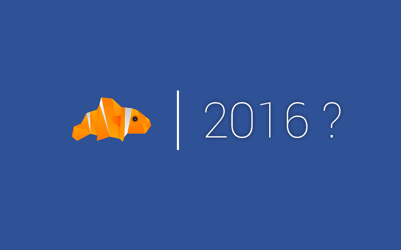 2016 est là, du nouveau pour le blog ?