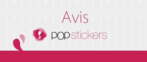 Avis PopStickers