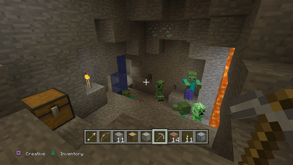 MinecraftPS3-Sreenshot