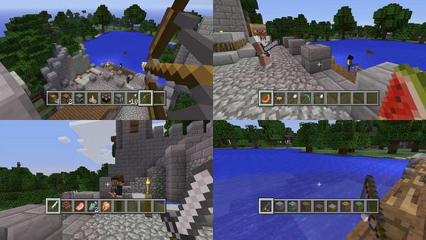 MinecraftPS3-Sreenshot_EcranSplitte