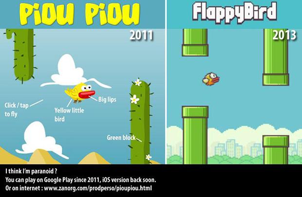 Piou-vs-Flappy-bird