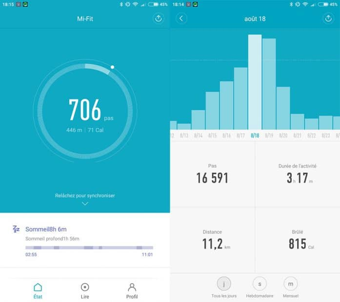 XiaomiMiBand-Fit-Pas