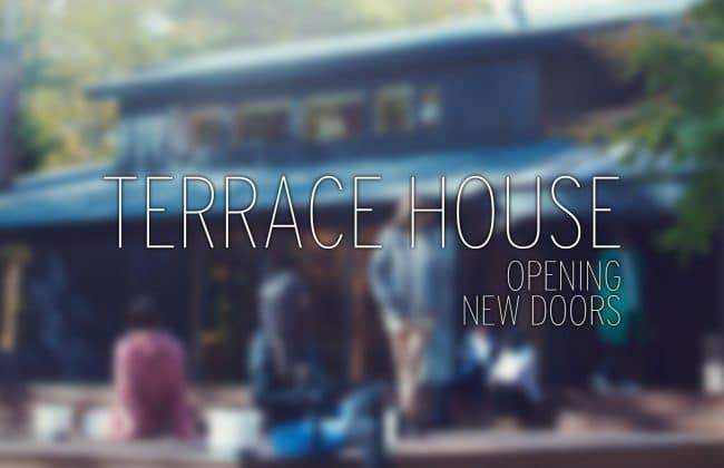 Logo Terrace House Opening New Doors