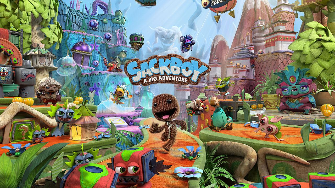 Sackboy a big adventure sur PS5